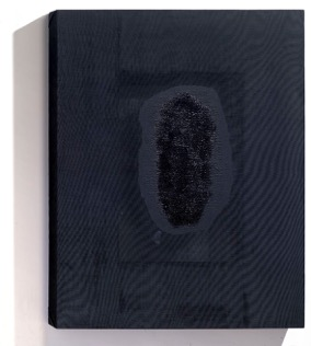 "Joan ill  ""Perssonal Sadnes"". Madera, tela pintura.  200 x 150cm.  Galeria L&B contemporary art"